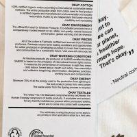 Lös etikett med information